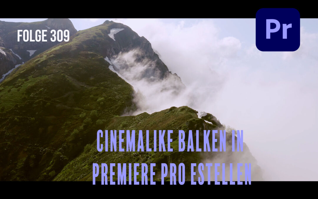Folge 309 Cinemalike Balken in Premiere Pro estellen