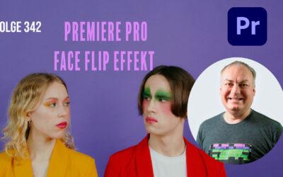 Premiere Pro Face Flip Effekt # Folge 342
